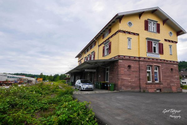Bahnhof Althengstett