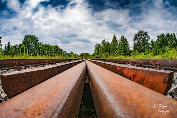 Rostige Schienen