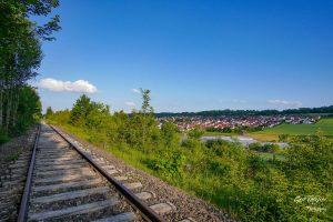 Gleise bei Ostelsheim 2