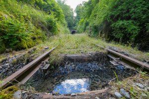 Voreinschnitt Forsttunnel