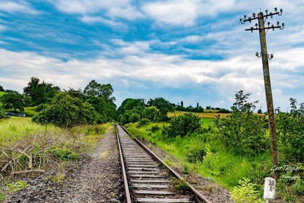 Gleise bei Althengstett