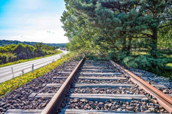 Gleise bei Ostelsheim 3