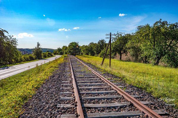 Gleise bei Ostelsheim 4